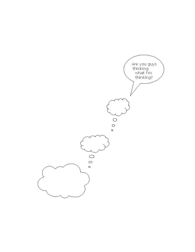 Cloud thoughts