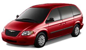 Minivan-red